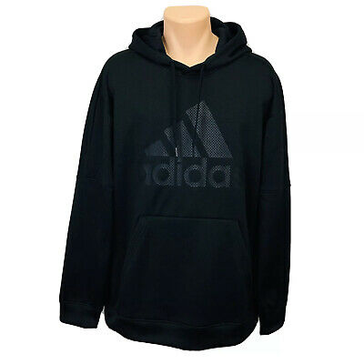 Adidas Climawarm Pullover Hoodie Sweater (Men's Size XL) Black