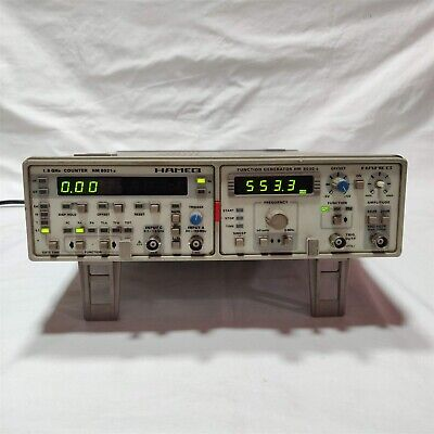 Hameg Hm8021-3 1.6ghz Counter With Hm8023-5 Function Generator.