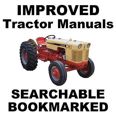 Case 431 441 530c 531 531c 540c 541 541c Tractors Repair Shop Service Manual Cd