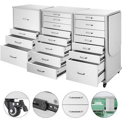 Medical Dental Equipment Alabama Assistants Mobile Cabinet Cart With Brake