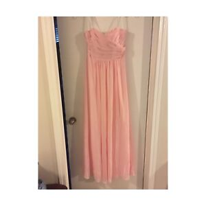 Size 12 Strapless Gown NEW w/Tags