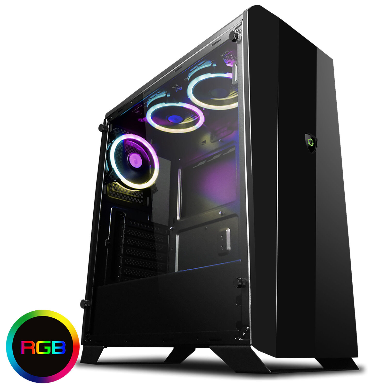 Computer Games - Ultra Fast AMD 4.2 Quad Core 16GB 1TB Desktop Gaming PC Computer HD RGB A