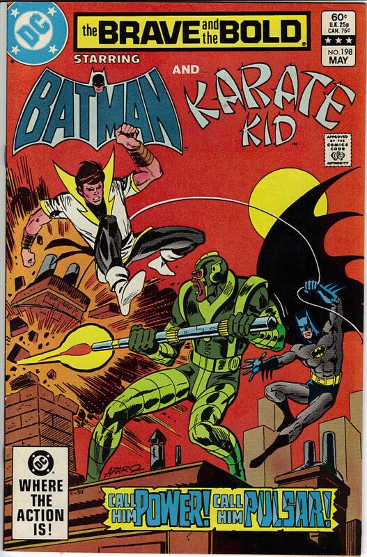 The Brave & The Bold comic #198 1983 Batman Karate Kid