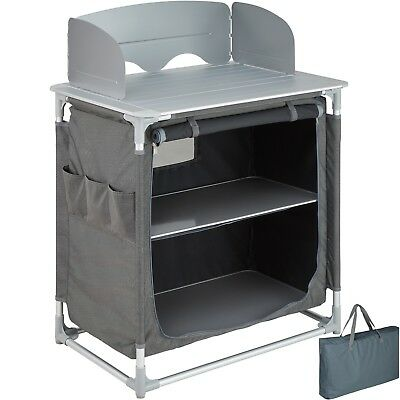 Campingküche Alu Küchenbox Campingschrank Faltschrank OHNE TASCHE B-Ware