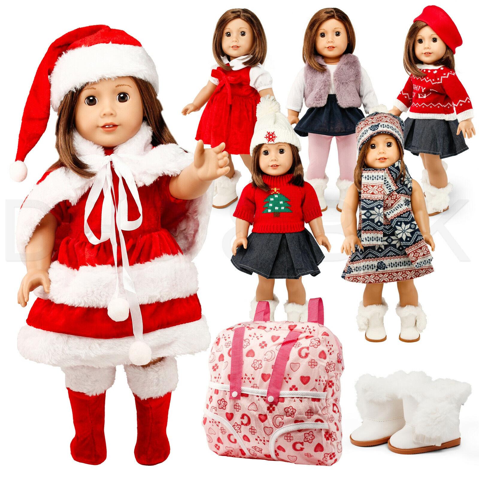 Coat /& Bling-bling Dress For 18/'/' AG American Doll Dolls//  Doll