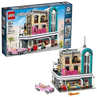 LEGO 10260 Creator Expert Downtown Diner Building Set