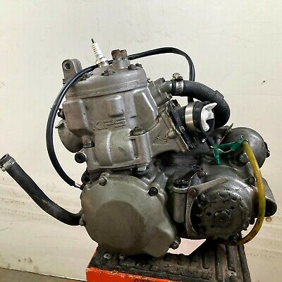 Kawasaki 1990 KX250 Engine motor power valves clutch cases stator top end cylind