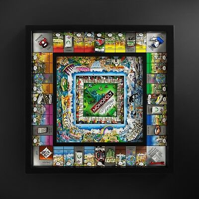 "Charles Fazzino Monopoly "" World Edition "" Signed & Numbered Limited Edition !"