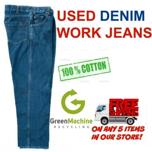 Used Work Jeans Cintas Redkap Unifirst Dickies