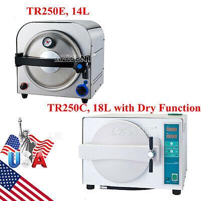 14l18l Dental Lab Autoclave Steam Sterilizer Sterilizationwith Drying Function
