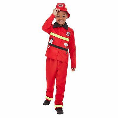 Fancy Dress Professions (Toddler Fire Fighter Costume Kids Boys Toddler Fancy Dress Book Week)
