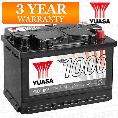 Yuasa Car Battery Calcium Open Vent 620CCA 70Ah T1 For Citroen Relay 244 2.0 HDi