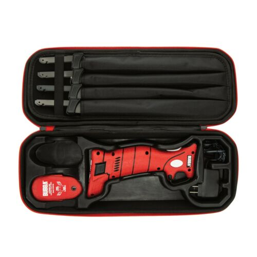 Bubba 1095705 Lithium Ion Electric Fillet Knife, 4 Blades and Fishing Case