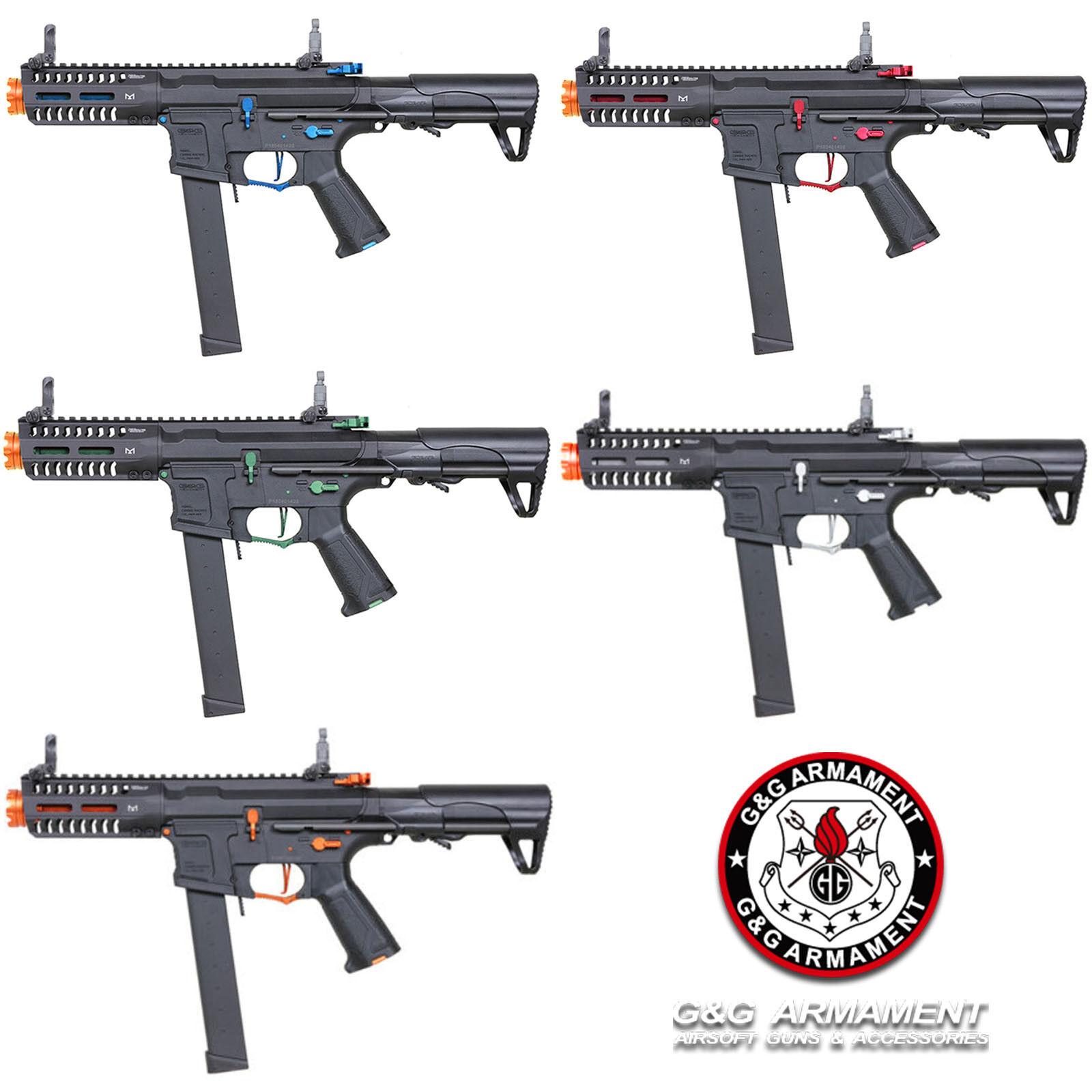 G&G Combat Machine ARP 9 Super Rangers Color Automatic Elect