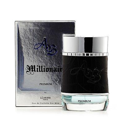 Ab Spirit Millionaire Premium Eau de Toilette Spray for Men 3.4 oz. ()