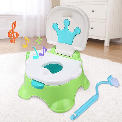 Toilettentrainer Kinder Toilettensitz WC Toilette Lerntöpfchen Töpfchen Musik DE