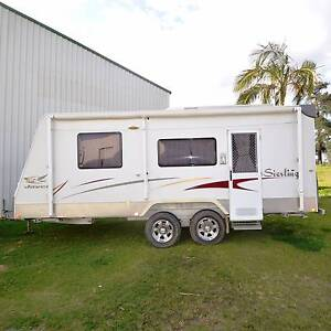 2008 20'6 JAYCO STERLING OUTBACK FULL ENSUITE OFF ROAD CARAVAN Gympie Gympie Area Preview