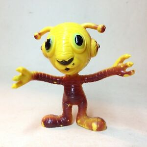 "1983 "" TIGGY "" OUTER TERRESTRIAL CREATURES BENDABLE FIGURE"