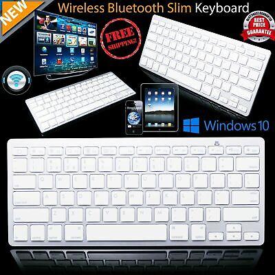 3.0 Bluetooth Wireless Keyboard For Apple iPad-2-3-4 Computer PC Tablet Macbook