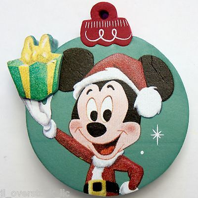 Disney WDW Mickey Mouse Christmas Present Gift Ornament Antenna Topper - NEW