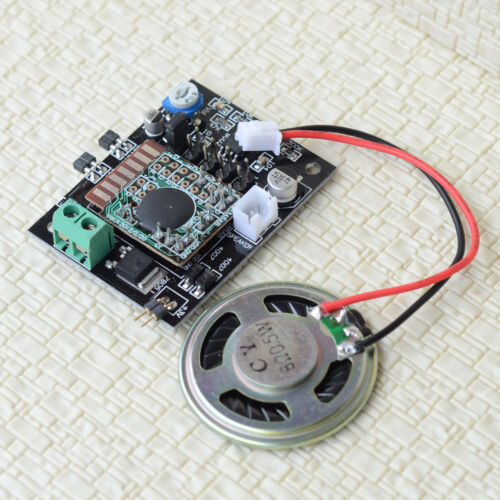 1 x sound effect board for grade crossing signal clang bell tinkle w/ speaker