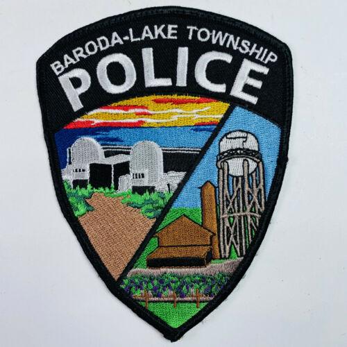 Baroda Lake Township Police Bridgman Berrien County Michigan Patch (A1)