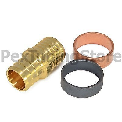 12 Pex X Pb Polybutylene Splicing Repair Kit Coupling Crimp Rings