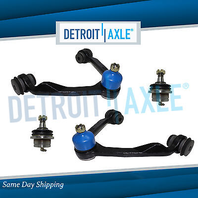 Ford F-150 F-250 Expedition 2WD 4 pc Front Upper Control Arm & Ball Joint Kit