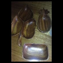 3 wooden bowls.. Blackburn Whitehorse Area Preview