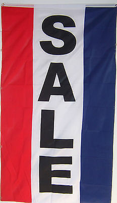 New 3x5ft Vertical Sale Sign Banner Flag Better Quality Usa Seller