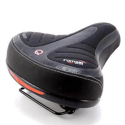 Wide Big Bum Bike Bicycle Gel Cruiser Extra Comfort Sporty Soft Pad Saddle Seat - Gel Cruiser Bicycle Saddle