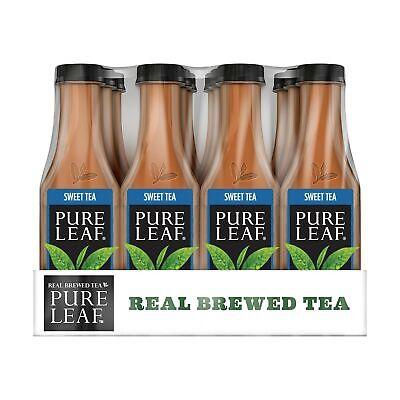 Pure Leaf Iced Tea, Sweet Tea, Real Brewed Black Tea, 18.5 Ounce Bottles (Pac...