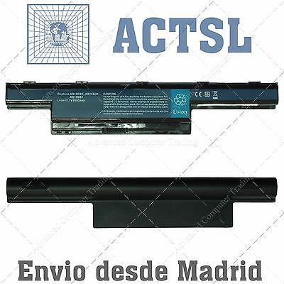 Bateria/Battery Acer Aspire 4253/ 5742Z/ 5552G AS10D81 10.8V 6600mAh 9 celdas