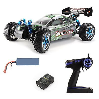 Amewi Booster Pro Edition RC 4x4 Brushless Off-Road Buggy 70km/h 4WD + Lipo Akku