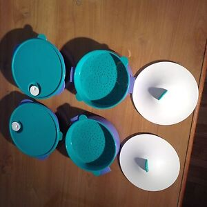Vintage and newer tupperware pieces Kitchener / Waterloo Kitchener Area image 4