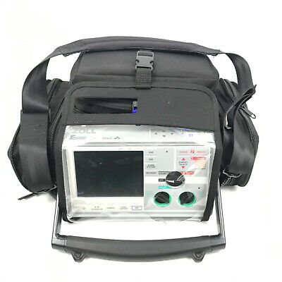 Zoll E Series Biphasic 12 Lead Spo2 Nibp Etco2 Aed Pacing Aed Lockout W Case