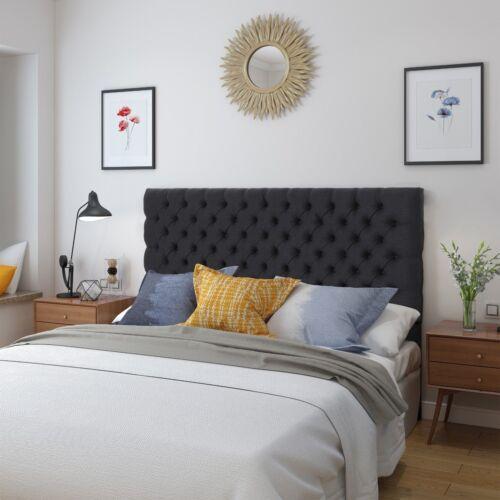Hunter Tufted Fabric Queen/ Full Headboard Beds & Mattresses