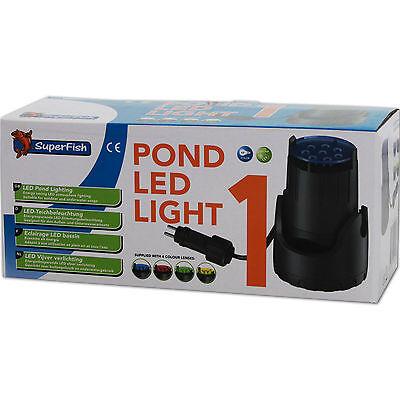 SUPERFISH POND LED LIGHT 1 - LED Teichbeleuchtung Außen Unterwasser Beleuchtung