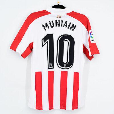 2017-18 Athletic Club Bilbao Home Shirt Player Issue #10 MUNIAIN Jersey