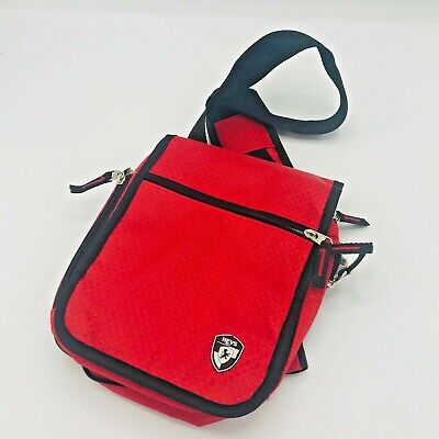 Heys Travelmate V3 Crossbody Tote Travel Survival Bag Red Size 9 x 8 Handbag