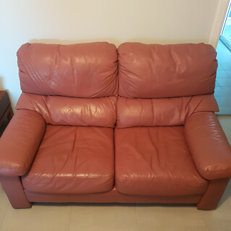 3 piece Leather sofa/couch for sale