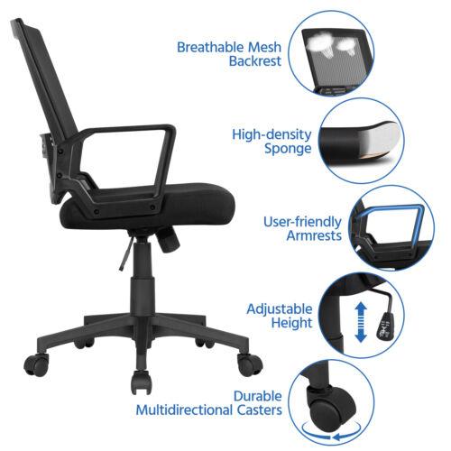 Pack 2 Mesh Chair Chair Desk Chair Chair