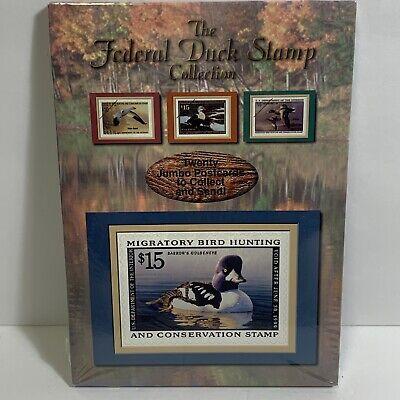 NIP Sealed 1998 Federal Duck Stamp 20 Jumbo Postcards USPS US Postal Service