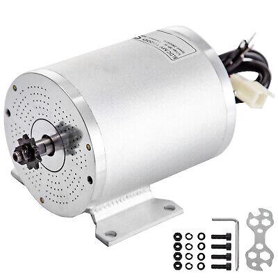 Motor de CC sin Escobillas Motor Eléctrico 36V 500W CC con Soporte...