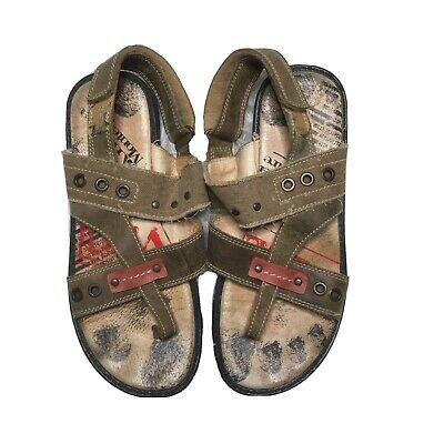 Andrea Montelpare 36 US 6 Kids Walking Sandals Shoes Italian Made