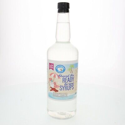 Snow Cone Or Hawaiian Shaved Ice Syrup Horchata Flavor Ready To Use 32 Fl. Oz