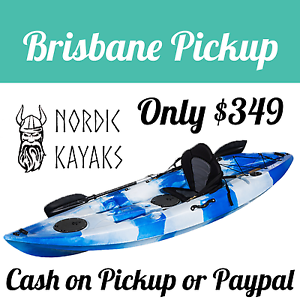 NORDIC 3M SINGLE KAYAK – PACKED WITH FEATURES – DEALER NEW Brisbane City Brisbane North West Preview