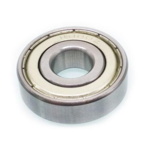 US Stock 2pcs 16100ZZ 16100 ZZ Metal Shielded Ball Bearing 10mm x 28mm x 8mm