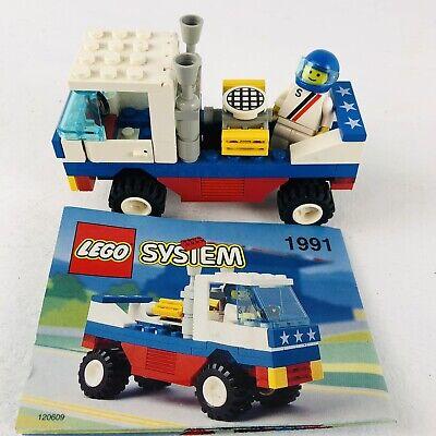 Vintage Lego System set #1991 Racing Pickup & MiniFigure