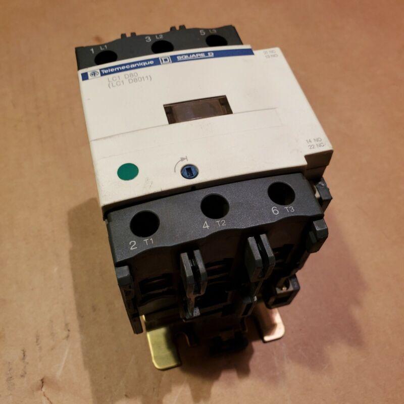 Telemecanique Square D LC1-D80 D8011 Contactor